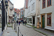 паутина узких улиц / Норвегия