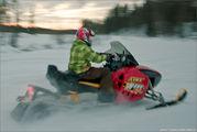 снегоход / Финляндия