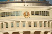 окна резиденции / Казахстан