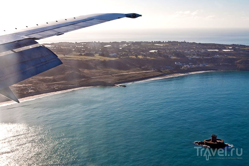 У побережья острова Джерси / Фото из Великобритании