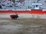 с помощью мулеты / Испания