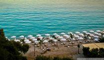 на пляже Barbatti / Греция