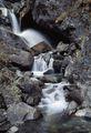 красивый водопад / Непал