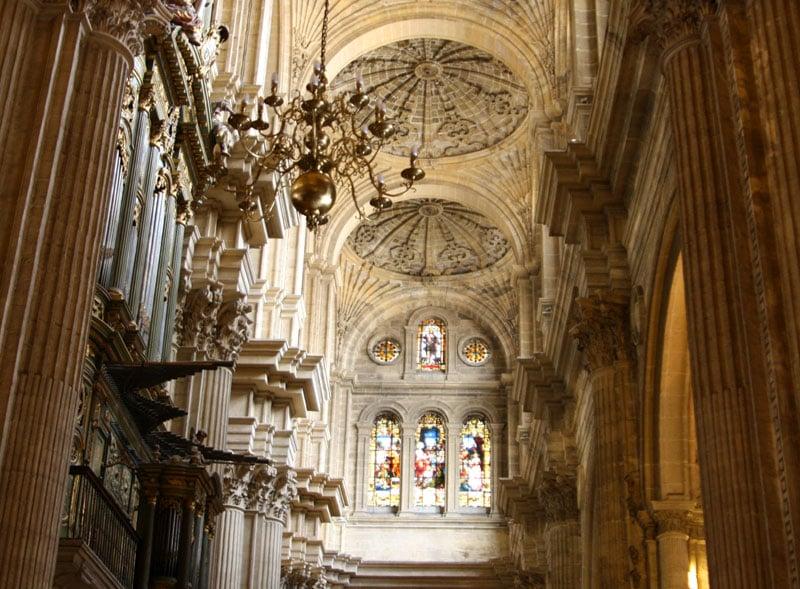 В кафедральном соборе Малаги / Фото из Испании