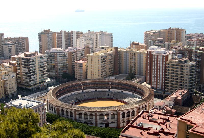 Арена для корриды в Малаге, Испания / Фото из Испании