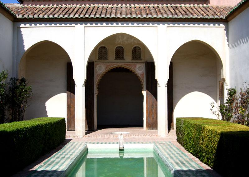 Крепость Алькасаба в Малаге, Испания / Фото из Испании