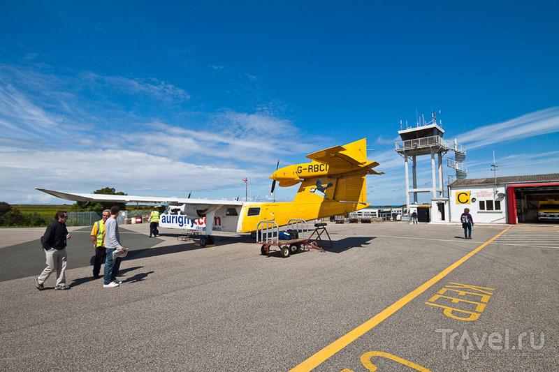 В аэропорту острова Олдерни / Фото из Великобритании