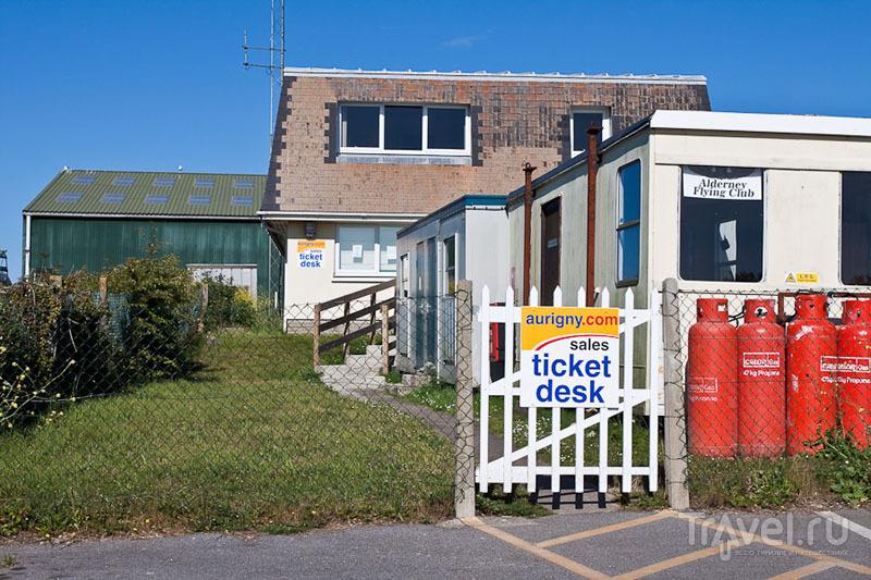 Агентство воздушных сообщений острова Олдерни / Фото из Великобритании