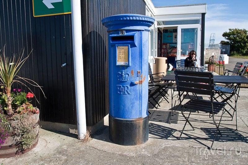 Почтовый ящик на острове Олдерни / Фото из Великобритании