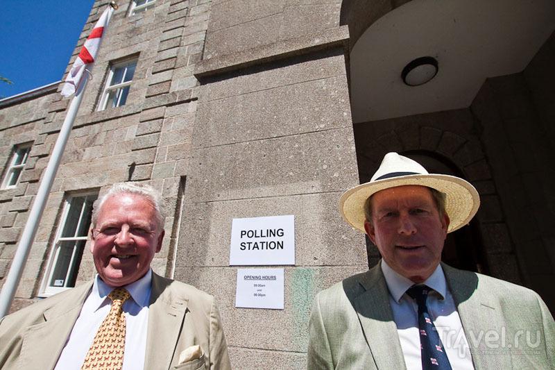 Кандидаты в президенты острова Олдерни / Фото из Великобритании