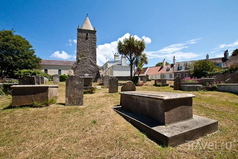 Кладбище острова Олдерни / Фото из Великобритании