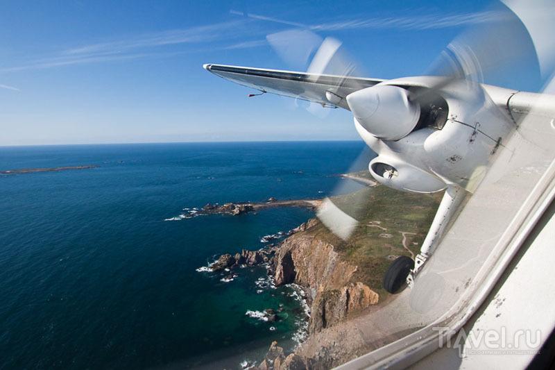 Вид на остров Гернси с воздуха / Фото из Великобритании
