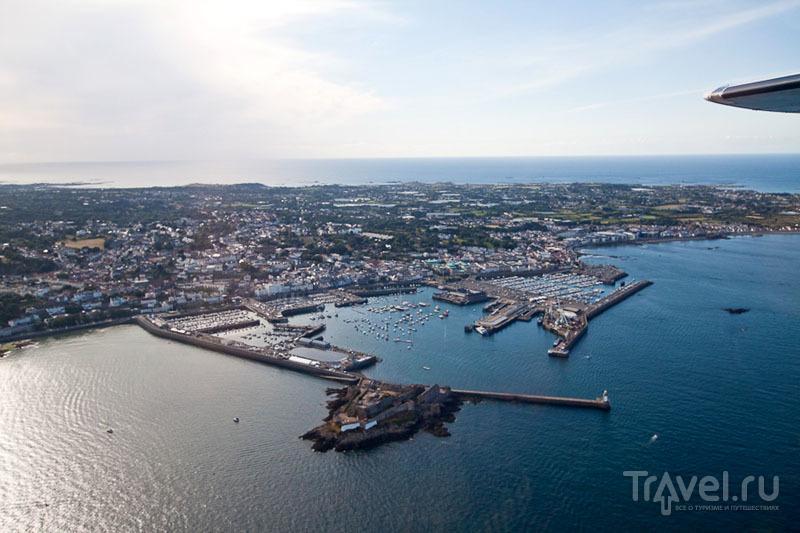 Столица острова Гернси Сент-Питер-Порт / Фото из Великобритании