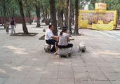 Скамейки и столики / Китай