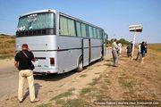 Мирное – первый населенный пункт после въезда в Молдавию / Молдавия
