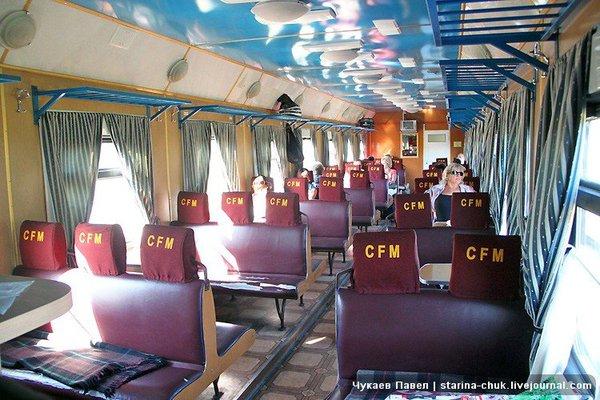 Салон мягкого сидячего вагона