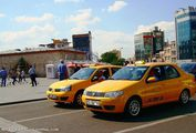 Такси на улице / Турция