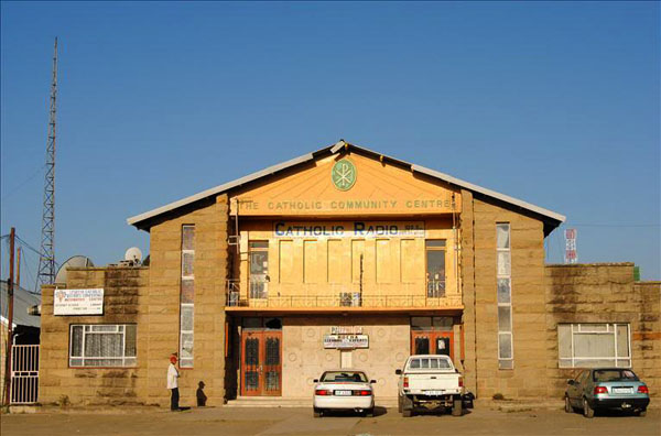 Католический центр в Масеру, Лесото / Фото из Лесото