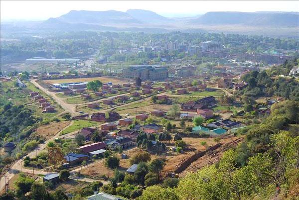 Пейзаж Лесото / Фото из Лесото