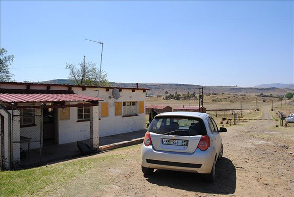 На границе Лесото / Фото из Лесото