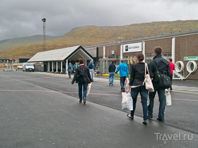 Аэропорт Vagar, Фарерские острова / Фото с Фарерских островов