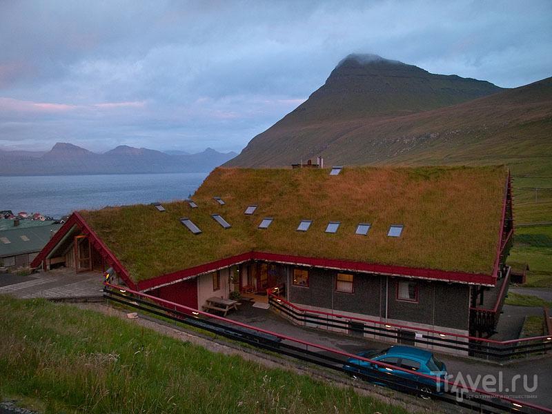 Гостиница Gjaargardur в деревне Гьоугв / Фото с Фарерских островов