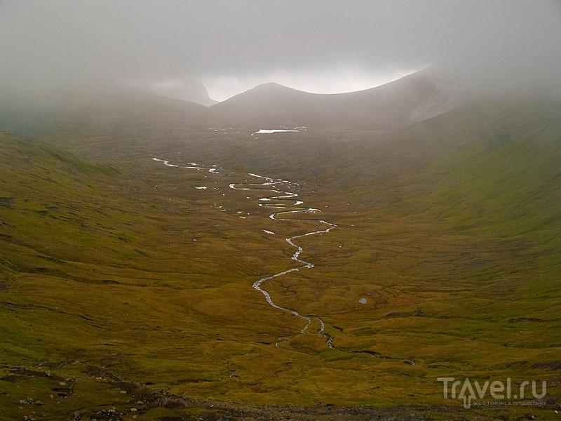 Высоко в горах на Фарерских островах / Фото с Фарерских островов