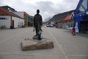 Памятник шахтёру / Шпицберген