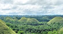 Шоколадные холмы / Филиппины