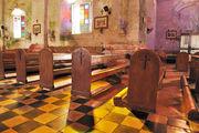 Интерьер церкви / Филиппины