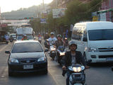 Движение по улицам Паттайи / Таиланд