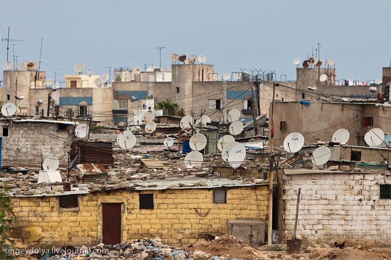 Спутниковые антенны в Марокко / Фото из Марокко