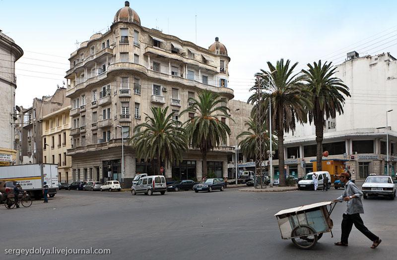 На улице Касабланки, Марокко / Фото из Марокко