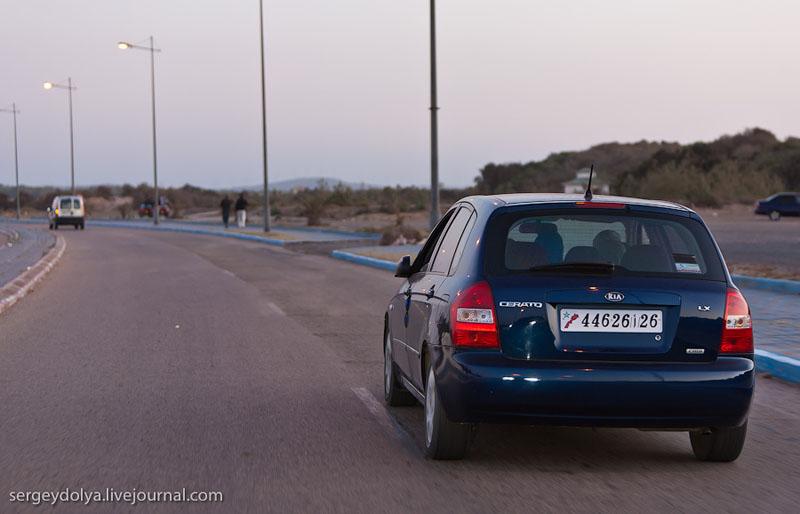 Автомагистраль в Марокко / Фото из Марокко