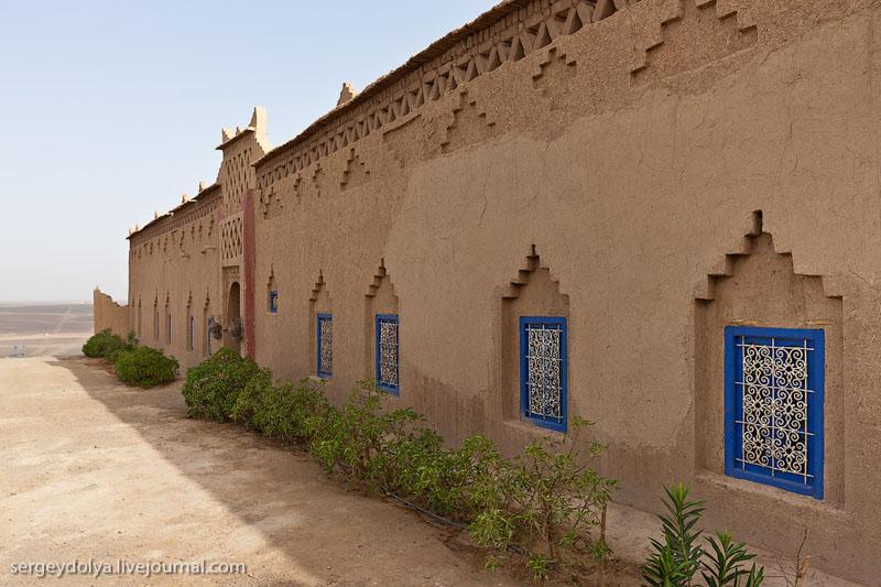 Отель в пустыне Сахара, Марокко / Фото из Марокко