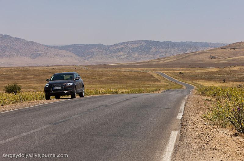 Дорога в Марокко / Фото из Марокко