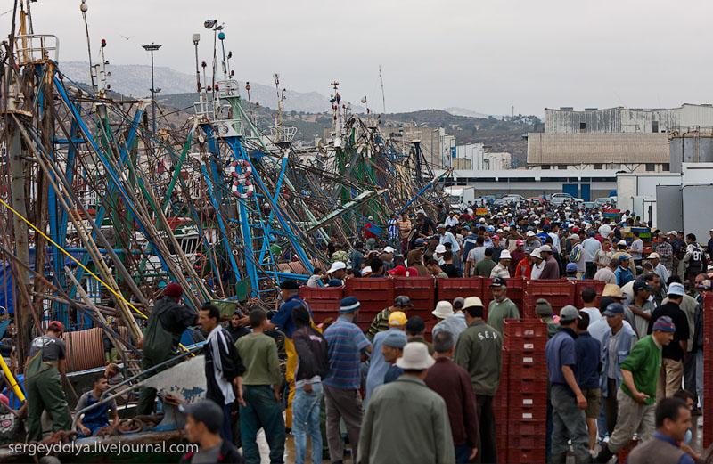 Порт Агадира, Марокко / Фото из Марокко