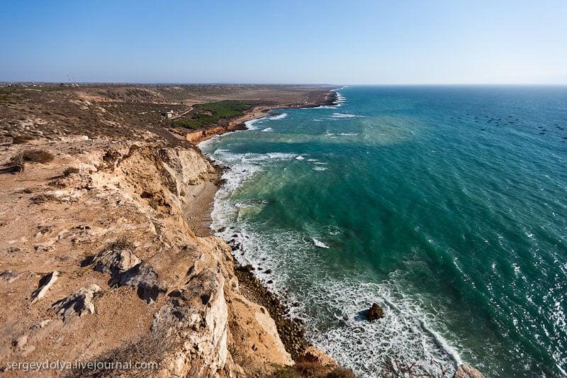 Побережье океана у Касабланки, Марокко / Фото из Марокко