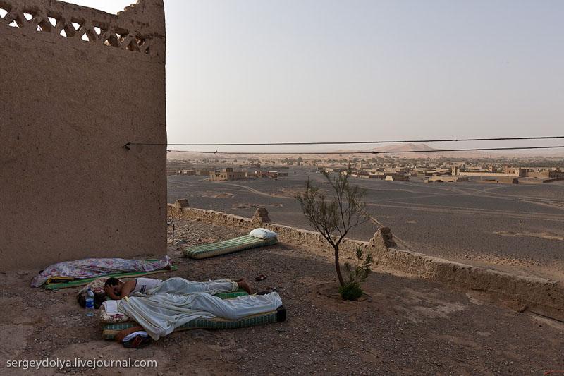 Сотрудники отеля в Марокко / Фото из Марокко