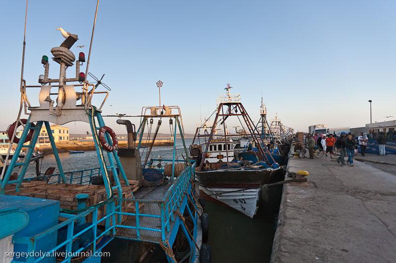 Пирс в Эс-Сувейре, Марокко / Фото из Марокко