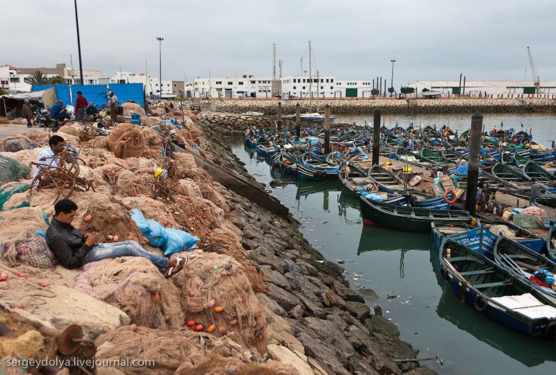 В порту Агадира / Фото из Марокко