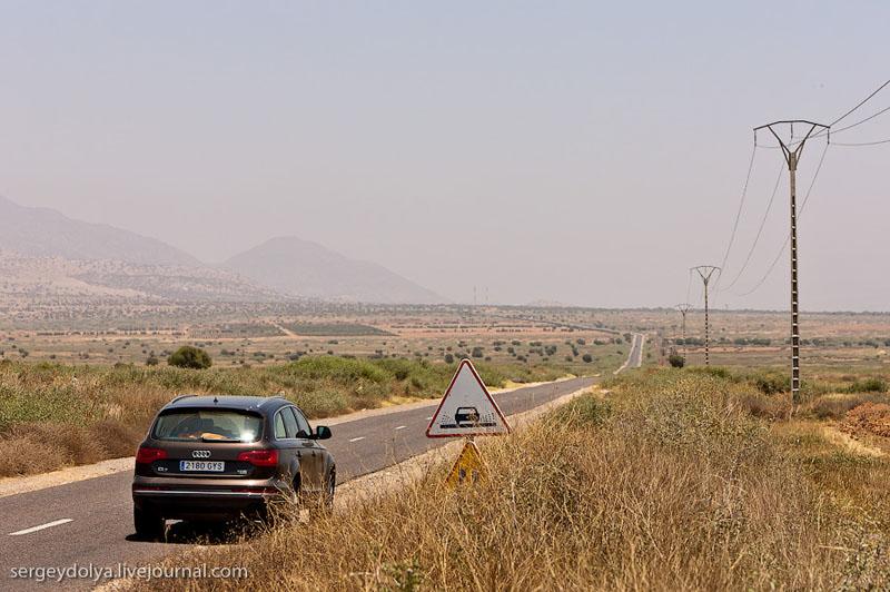 Горная дорога в Марокко / Фото из Марокко