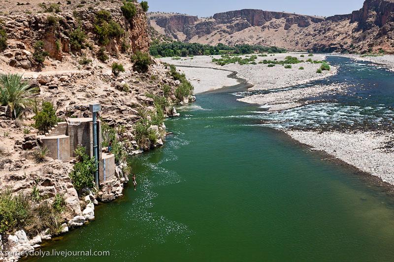 Река в Марокко / Фото из Марокко