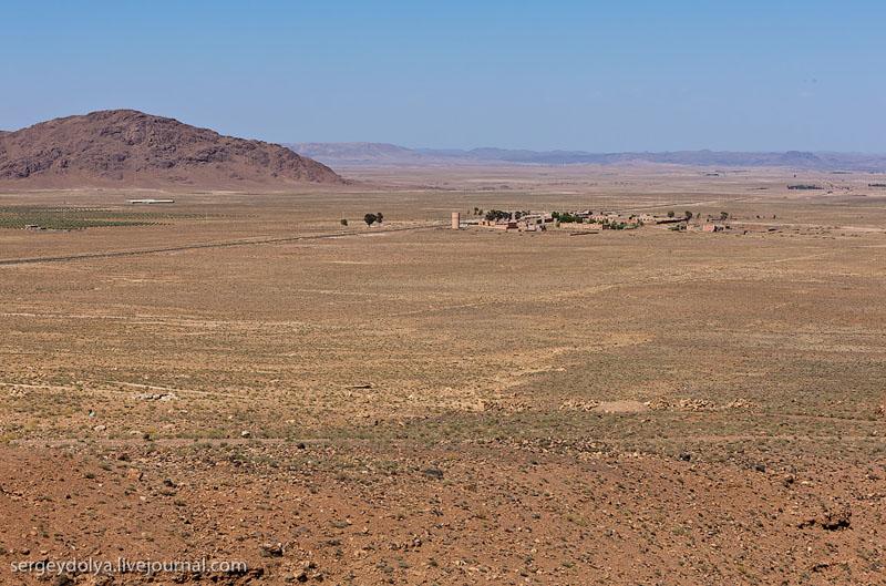 Селение в Атласских горах, Марокко / Фото из Марокко