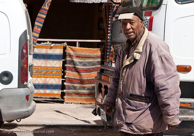 Житель Атласских гор, Марокко / Фото из Марокко