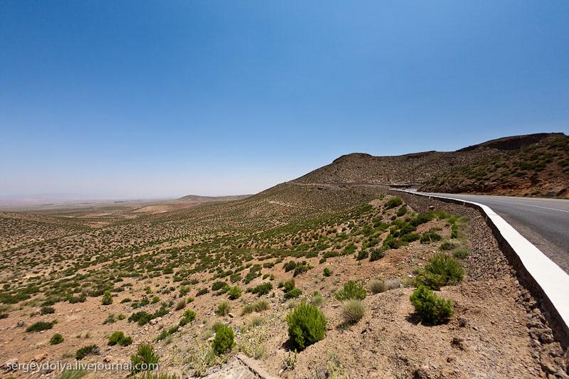 Пейзаж Атласских гор / Фото из Марокко