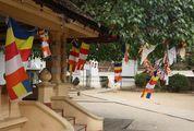 Буддистские флаги / Шри-Ланка