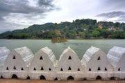 Озеро и остров / Шри-Ланка