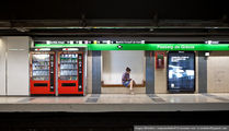 Реклама в метро / Испания