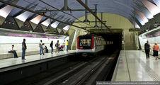 Отъезжающий поезд / Испания